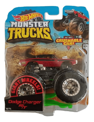 Hot Wheels Monster Trucks Araba 1:64 FYJ44 DODGE CHARGER