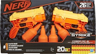 Nerf Alpha Strike Cobra Rc E7565